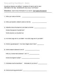 following directions  worksheets activities goals and more  basic worksheets and activities