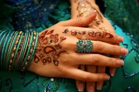 Resultado de imagen de pinturas con henna imágenes