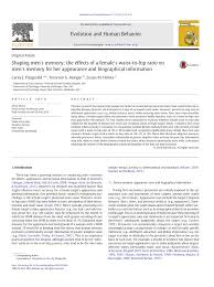 (PDF) Shaping <b>Men's Memory</b>: The Effects of a Female's Waist-To ...