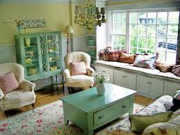 Vintage Style Living Room Designs