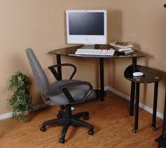 brown walnut wood desk alluring gray office desk