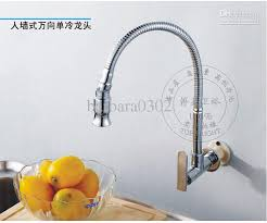 kitchen faucets wall mount: direct salepull down kitchen wall mounted brass chrome faucets single cold sink tap