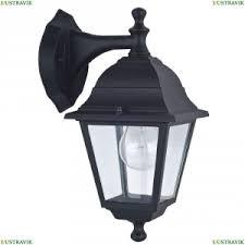 Уличный настенный <b>светильник Favourite Leon</b> Black <b>1813</b>-<b>1W</b> ...