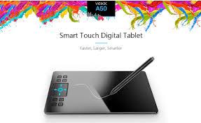 <b>VEIKK A50</b> Review– The Ultra-thin Digital Tablet Drawing Panel