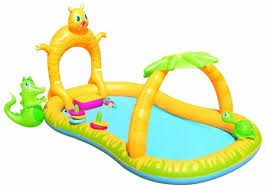 Игровой центр <b>Bestway</b> Jungle Safari Play <b>53030</b> — купить по ...