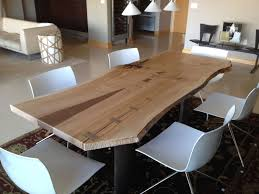 Custom Made Dining Room Furniture 1000 Images About Live Edge Tables On Pinterest Dining Tables