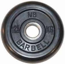 <b>Диск обрезиненный</b> 31 мм <b>MB BARBELL</b> MB31-1.25 купить в ...