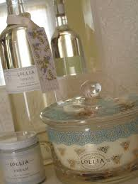 Love the Lollia Wish packaging! Think the wide container is a candle ...