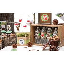 <b>Woodland Creatures Party Supplies</b>