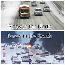 Northern vs. Southern Snow   FunnyWebsite.com via Relatably.com