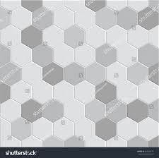 Hexagon Tile Floor Patterns 3d Hexagon Tile Brick Pattern Decoration Stock Vector 204266173