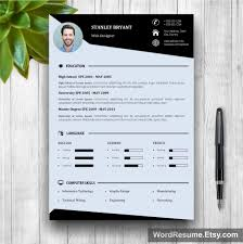 modern resume template cover letter portfolio resume design microsoft office resume templates modern