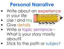 latest how to write a personal narrativethe world of writings arties taught by the groovy grandma narrative writing made easy vgkangnp