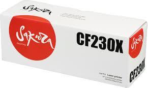 Тонер-<b>картридж Sakura CF230X</b>, черный, для лазерного ...