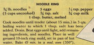 December 11 is National Noodle Ring Day | Foodimentary ...