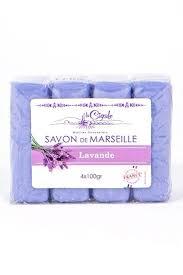 <b>LA CIGALE</b>/ <b>Мыло</b> марсельское Лаванда, 4Х100 г купить в ...
