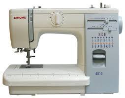 Купить <b>Швейная машина Janome 415 / 5515</b>, бело-голубой по ...