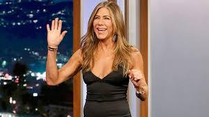Jennifer Aniston's Tight <b>Black</b> Dress – 'Jimmy Kimmel Live' Outfit ...