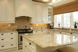 ornamental light granite kitchen