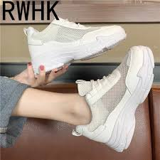 <b>RWHK</b> Small white shoes female <b>2019 summer</b> models increased ...