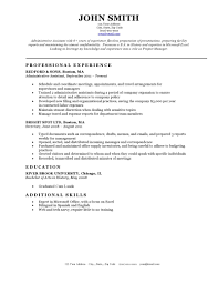 sample classic resume templates resume sample information classic resume template example for administrative assistant professional experience sample classic