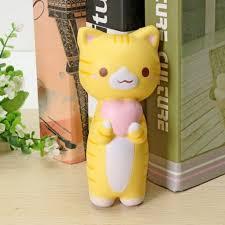 Jumbo Squishy Vlampo Kitten Cat Love Heart <b>Original Collection</b> ...