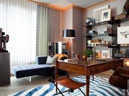 contemporary home office with nuloom zebra animal print rug carpet crown molding georgetown art deco office contemporary