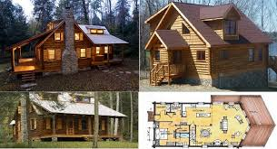 Cabin and House Plans by Estemerwalt   Home Design  Garden    Estemerwalt log homes plan
