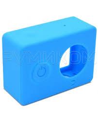 Купить Силиконовый <b>чехол для Xiaomi Yi</b> Action Camera (синий) в ...