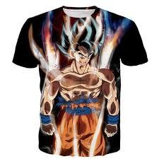 Dragon Ball Z Men's Summer T-shirts 3D <b>Printing Super</b> Saiyan Kid ...