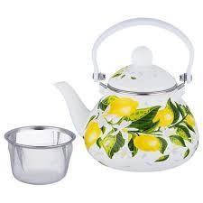 <b>Чайник Agness</b>, Лимоны, 1,<b>3 Л</b>, с Фильтром, Кухня Нижний ...