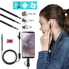 <b>3</b> in 1 USB <b>Ear Cleaning Endoscope</b> Earpick With Mini Camera HD ...