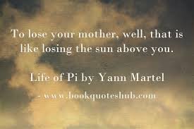 Losing mother quote   Book Quotes Hub via Relatably.com