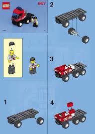 Инструкция Lego Superpower Fire Engine (2 страницы)