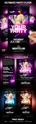 ultimate party flyer by partyflyer graphicriver ultimate party flyer clubs parties events