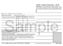 shipping how to custom forms duties and taxes blog declaration form there are two kinds cn 22 or cn 23 which is obtainable at most foreign post offices or can be ordered for from usps com
