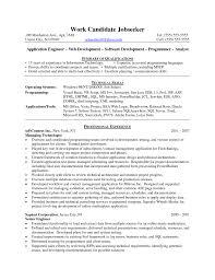 ruby on rails programmer sample resume paralegal resume objective java developer resumes senior java developer resume sle format for web java developer resumesaspx