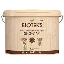 <b>Лак паркетный водный Эко-Лак</b> BIOTEKS/ ПРОФИ LD п/мат.бесцв ...