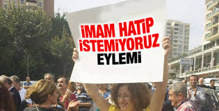 Bahçeşehir'de İmam Hatip'e tepki kampanyası