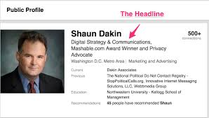 things you must do on linkedin right now dakin associates if you don t have a great photo and a great headline for your profile most people won t much further 2edit my public profile linkedin