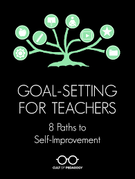goal setting for teachers 8 paths for self improvement cult of some links in this post are amazon affiliate links if you click these and make a purchase from amazon i will receive a small commission at no extra cost