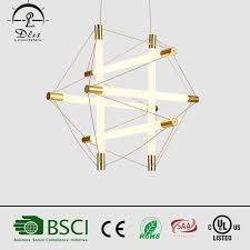 <b>Modern</b> Simple Decorate Dining Room <b>Creative</b> Iron&Glass <b>LED</b> ...