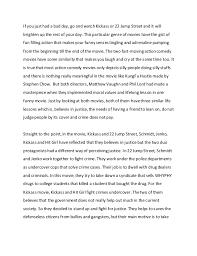 comedy essay english essay comparison action comedy movies