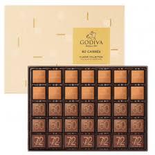 Assorted Chocolate Carré Collection <b>60pcs</b>