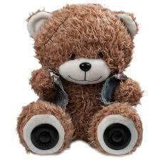 <b>Портативная колонка RITMIX ST-250</b> Bear BT Brown: купить за ...
