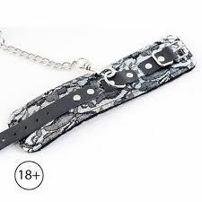 <b>Кружевные наручники Toyfa</b> Marcus, серебристый, 42 см ...