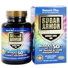 Nature's Plus <b>Sugar Armor Sugar Blocker Weight</b> Loss Aid - 60 ...