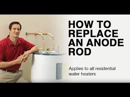 How to Replace a Water Heater Anode Rod - YouTube