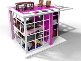 brinca dadas zoe house is pretty in pink brinca dada bennett house modern dolls