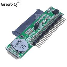 <b>Great Q</b> 44 Pin SATA 2.5 Female to IDE 2.5 Male HDD Converter ...